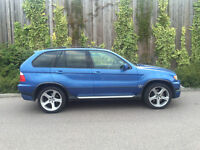 RARE 2004 53 - BMW X5 4.6 IS AUTOMATIC IN ESTORIL BLUE