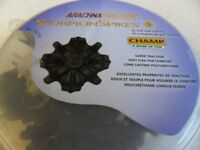 Champs Scorpion Spikes, 22 black soft spikes, New in original container