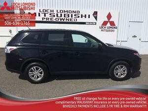 2015 Mitsubishi Outlander ES, LOTS OF WARRANTY REMAINING, POWER