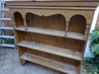 Pretty pine dresser top,H1.18mt x width 1.13 mt. perfect for painting,