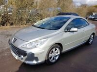 2007 PEUGEOT 307cc AUTOMATIC LOVELY MUCH LOVED CAR GREAT HISTORY