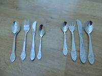 2 Sets of Childrens Cutlery