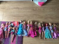 Frozen, my little pony,Barbie dolls