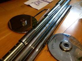 X-Pole Sport 50mm chrome: used in good condition