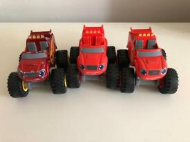 BLAZE & THE MONSTER MACHINE DIE CAST VEHICLES