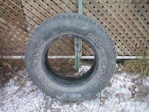 1 Michelin Cross Terrain Tire * P235 70R16 104S * $30.00 .  M+S / All Season Tire ( used tire )