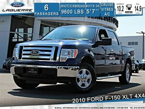 2010 Ford F-150 XLT**4X4*6 PLACES*A/C*CRUISE**