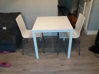 Ikea white kitchen table