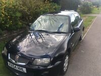 Rover 25, 1.4l Petrol in Black, 78,000 Miles (Very Low) Long M.O.T