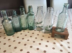 Collectable glass bottles