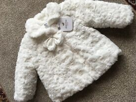 New absorba baby girls jacket