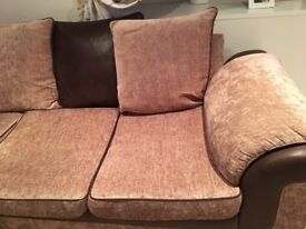 Clean and Well kept 3 seated sofa for sale - Colletion only
