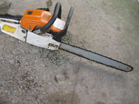 "petrol chainsaw 20"" bar"