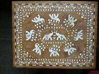 Ornamental indian coffee table