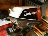 Johnson Seahorse 6hp outboard L/S