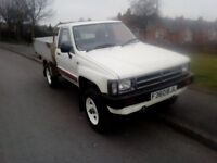 1988 Toyota HI LUX 4X4 2.4 Diesel Custom back, great condition, perfect mechanical order (full MOT )