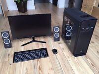 BRAND NEW GAMING COMPUTER,AMD Eight-Core FX-8320 CPU,16GB RAM,Gainward GTX770 2GB GPU,SSD+HDD