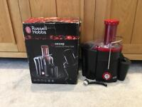 Russell Hobbs 20360 Desire Whole Fruit Juicer, 2 L, 550 W - Black - Boxed with Instructions