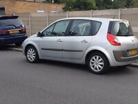 Renault Scenic Dynamique VVT 1.6cc Petrol 5-Door MPV Large Boot Space