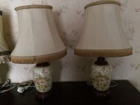 Ceramic large table lamps