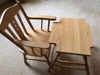 Mothercare Kids chair & table - suits 2-4 year old - Good condition