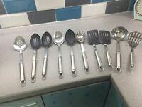 10 piece kitchen utensils set