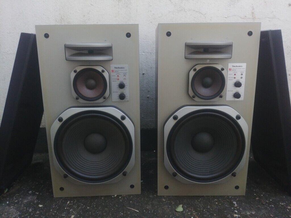 Technics SB-R4 Speakers | in Worthing, West Sussex | Gumtree