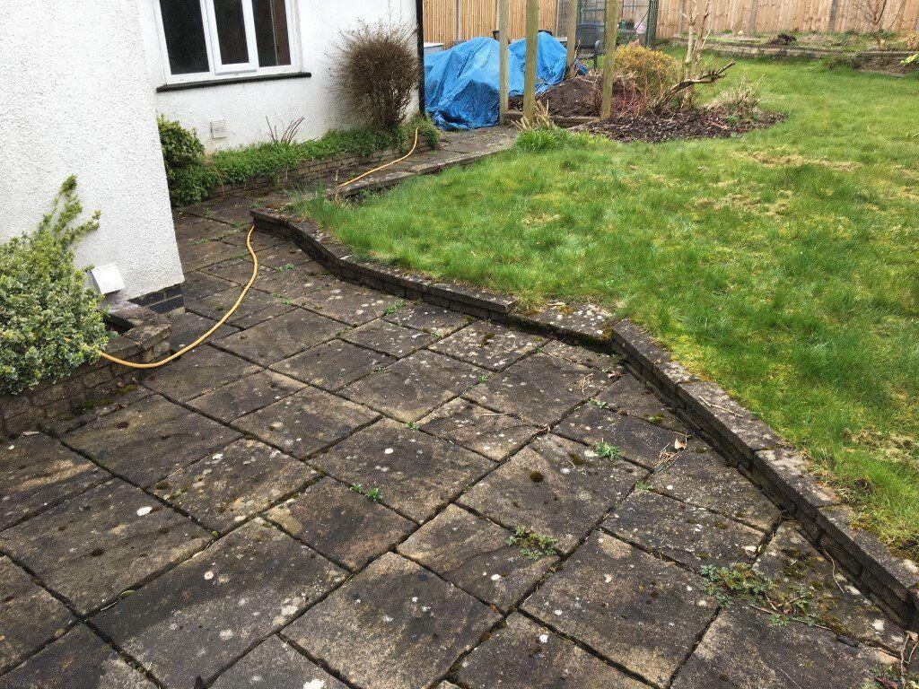 Bradstone Random York Stone Concrete Garden Slabs In