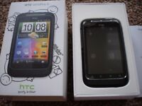 HTC Wildfire S Sim Free Mobile Phone – Black