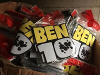 Job lot 200 Ben 10 wall stickers