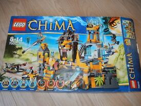 Lego Chima 70010 The Lion Chi Temple - 100% complete In As New condition with Box and Instructions