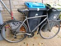 Men's Hybrid Ridgeback Bike (needs some TLC)