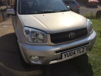 2004 Toyota Rav 4 automatic 1 owner full mot selling cheap for a quick sale p-x welcome