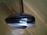 Taylormade R7 Driver Titanium 460 with matching head cover