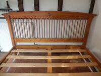 Wooden Bed Frame - King Size
