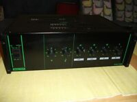 BOUYER AM-1105 PA AMPLIFIER 100 WATTS AMP.