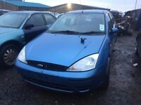 2002 Ford focus, 1.6 petrol, breaking for parts only, all parts available