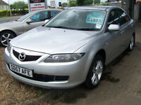57 plate late 2007 LOW MILAGE MAZDA 6 GREAT SPEC TOWBAR NEW MOT HANDBOOK PACK ONLY £1995