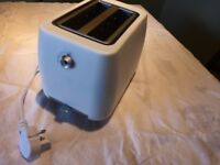 Small white toaster - very good condition.