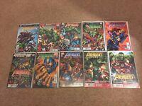 Avengers Assemble Comics #1 - 10