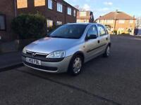 Vauxhall Corsa 1.4 automatic 5 door 1 years mot