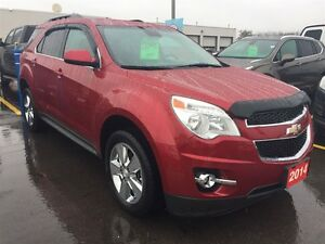 2014 Chevrolet Equinox 2LT FWD Leather Sunroof - One Owner