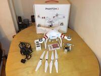 Dji Phantom 3 Standard Drone faulty for spares or repairs