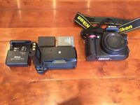 Nikon D3000 Body Only with Battery Grip & Extra Battery
