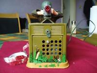 Tomy Combat G I 1960S BATTERY OPERATED TIN PLATE TOY £100 O.N.O.