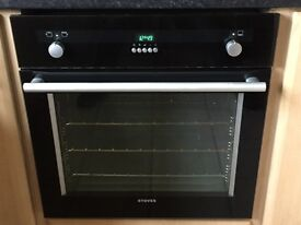 Stoves Gas Oven with electric grill. Instruction book and oven fittings included.