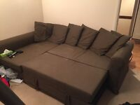 IKEA corner sofa bed with storage compartment - URGENT SALE REQUIRED