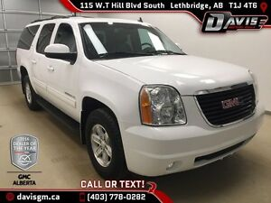 Used 2014 GMC Yukon XL 4WD SLT-Heated Leather,HD Trailering Pack
