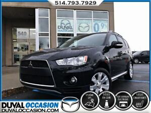 2011 Mitsubishi Outlander XLS + AWD + GPS + CUIR + TOIT OUVRANT