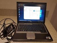 Dell Latitude D630. Windows 10 160gb hard drive 4gb ram
